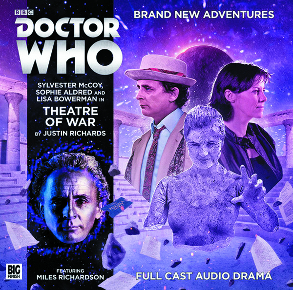 DOCTOR WHO THEATRE OF WAR AUDIO CD