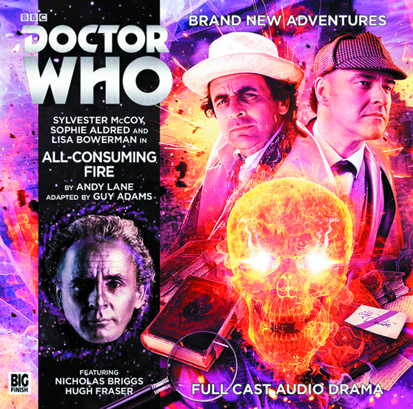 DOCTOR WHO ALL CONSUMING FIRE AUDIO CD