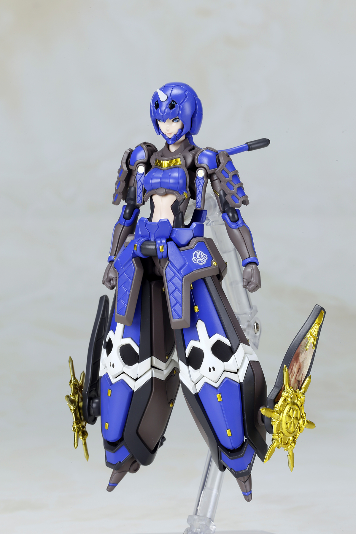 PHANTASY STAR ONLINE II INDIGO GUARDIAN SHIKI VER MDL KIT