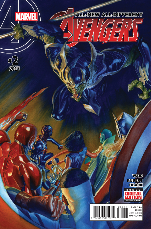 ALL NEW ALL DIFFERENT AVENGERS #2