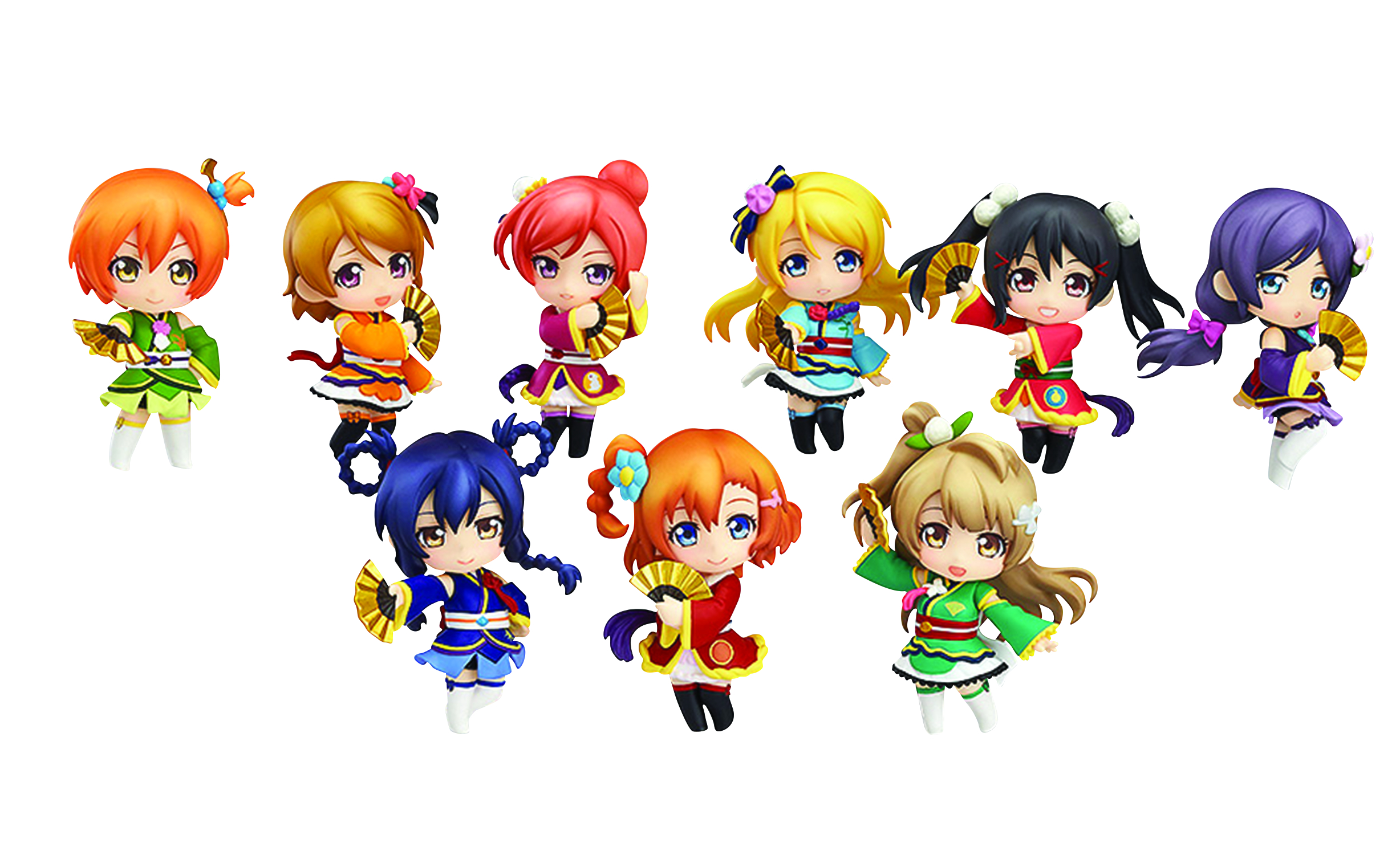 LOVE LIVE NENDOROID PETITE TRADING STRAP 10PC DIS ANGEL VER