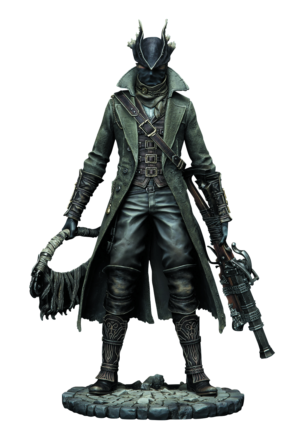 BLOODBORNE HUNTER 1/6 PVC FIG