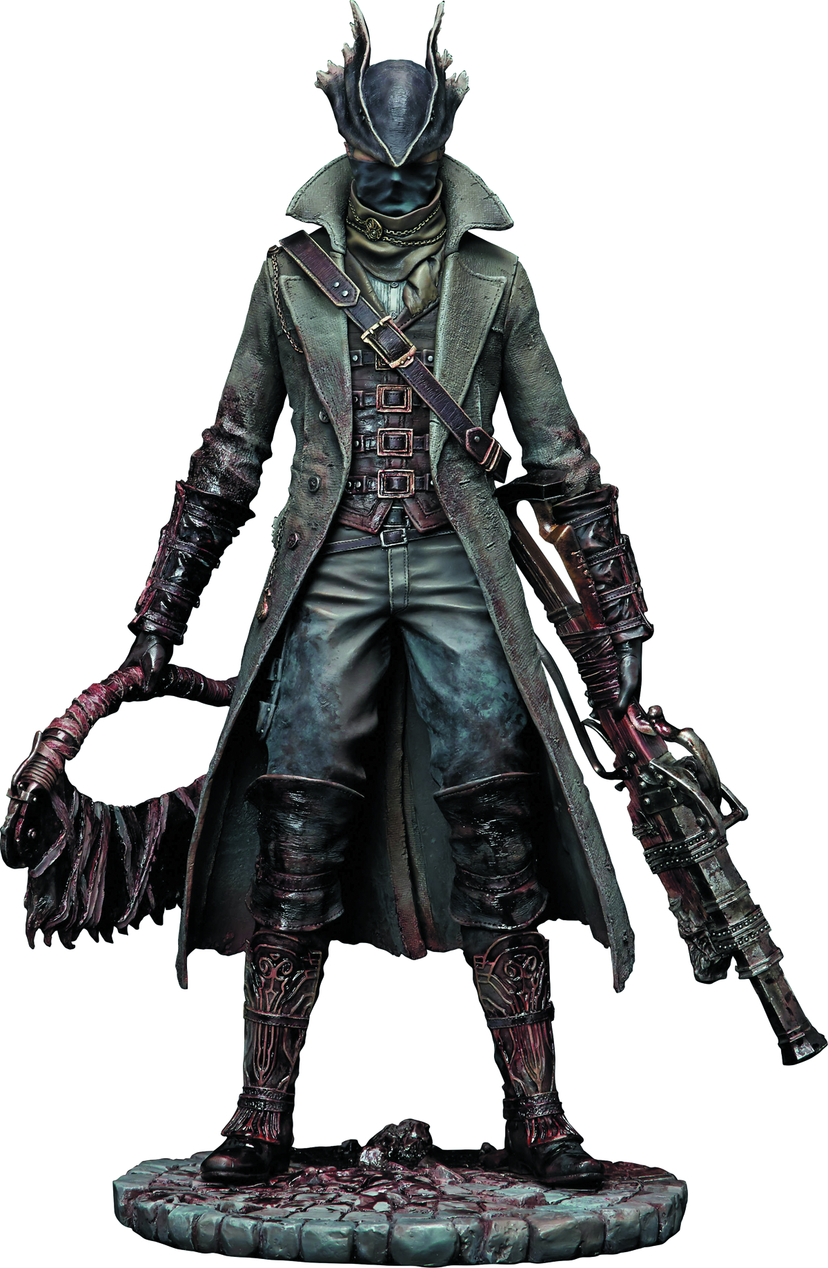 JUN158650 - BLOODBORNE HUNTER 1/6 PVC FIG PUDDLE OF BLOOD ...