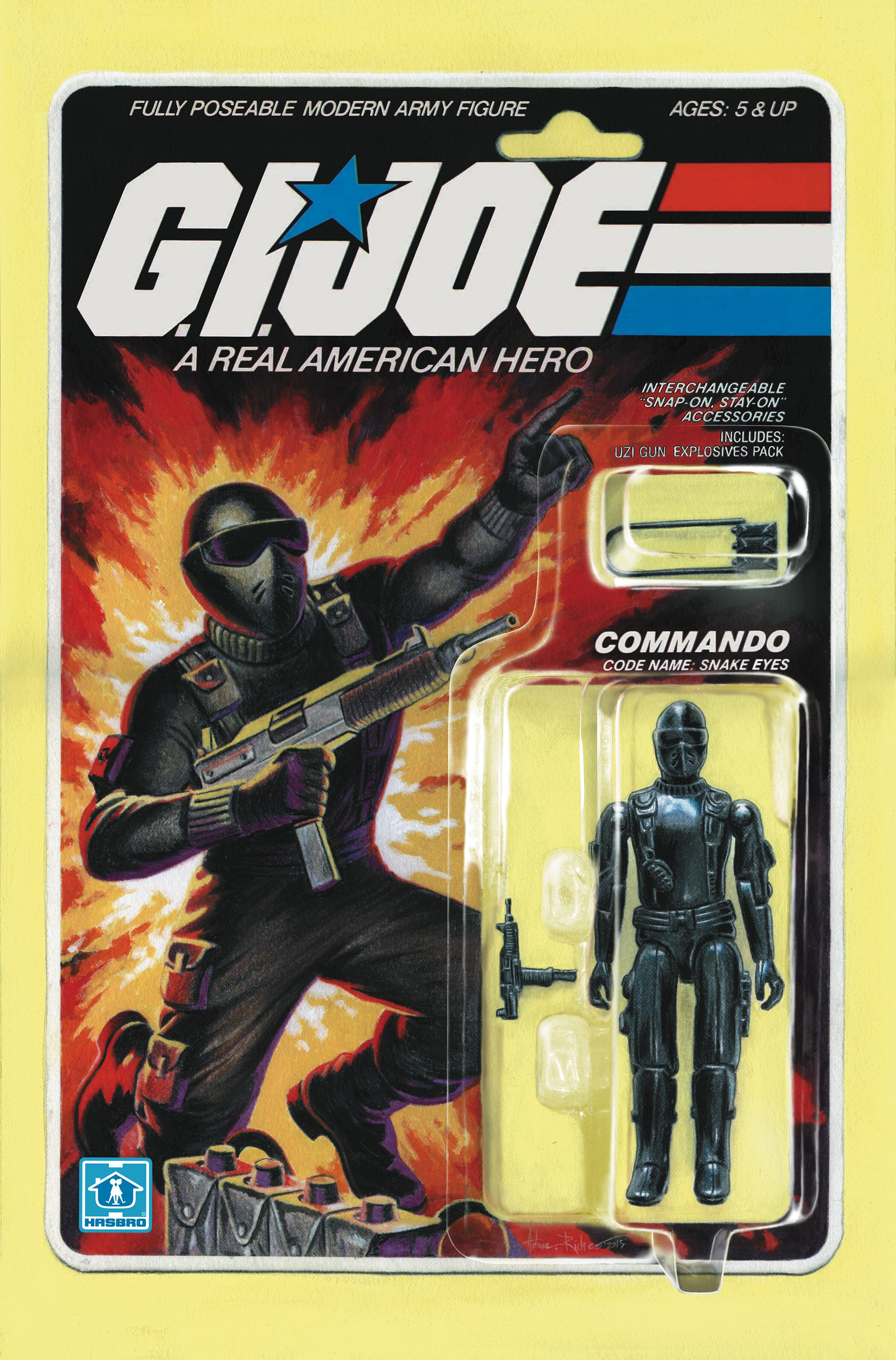 GI JOE A REAL AMERICAN HERO #219 SUBSCRIPTION VAR