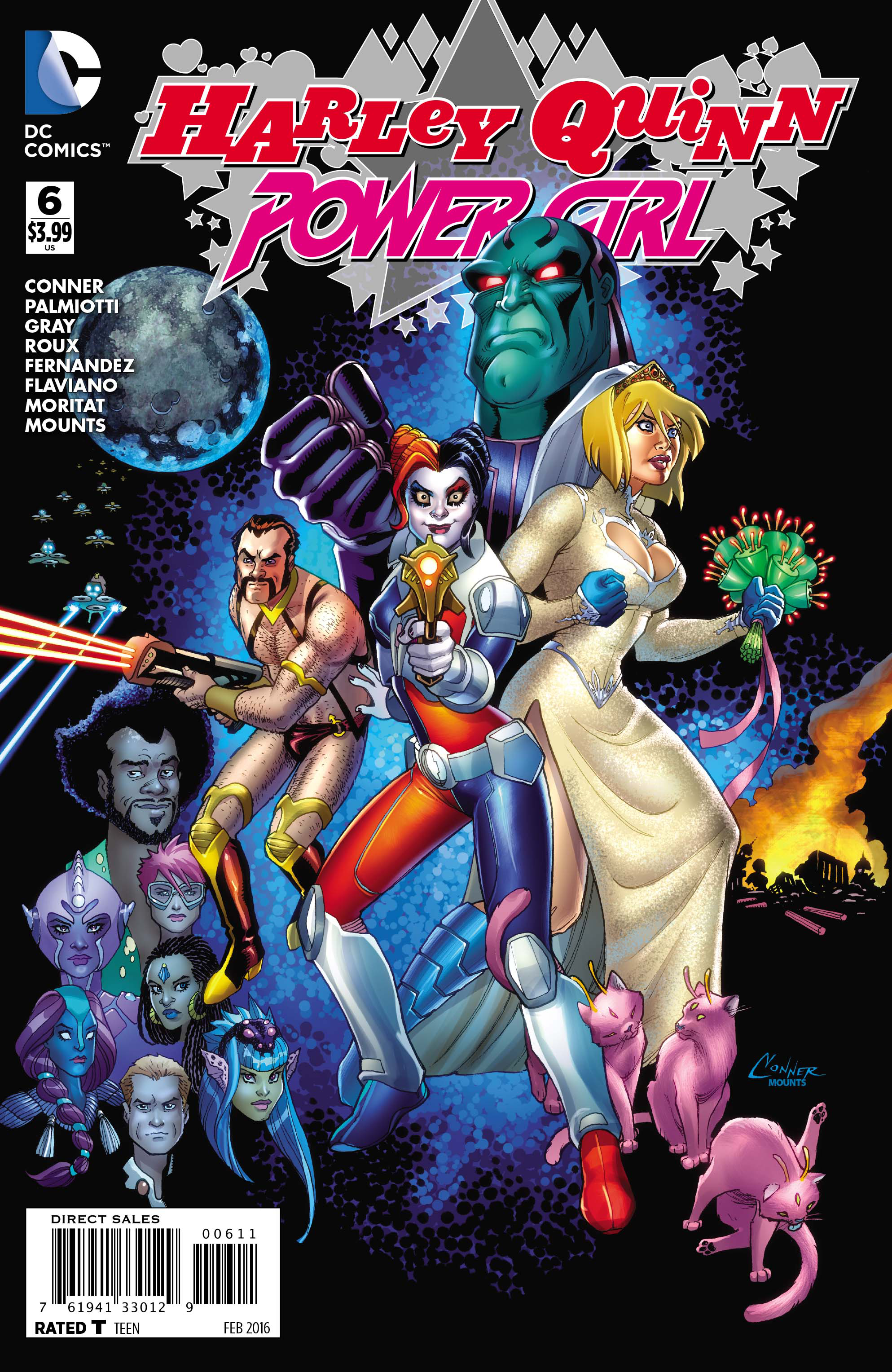 HARLEY QUINN & POWER GIRL #6