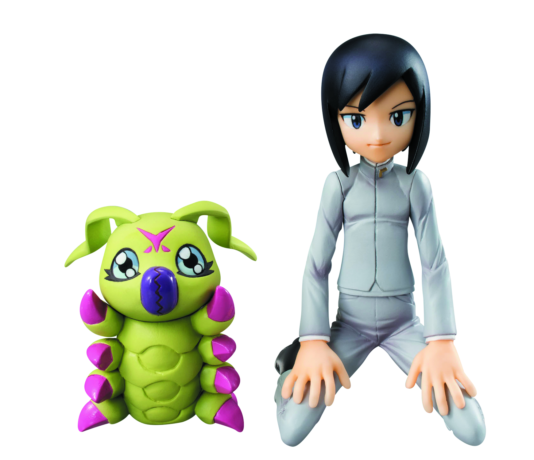 DIGIMON ADVENTURE 02 KEN & WARMMON GEM PVC FIG