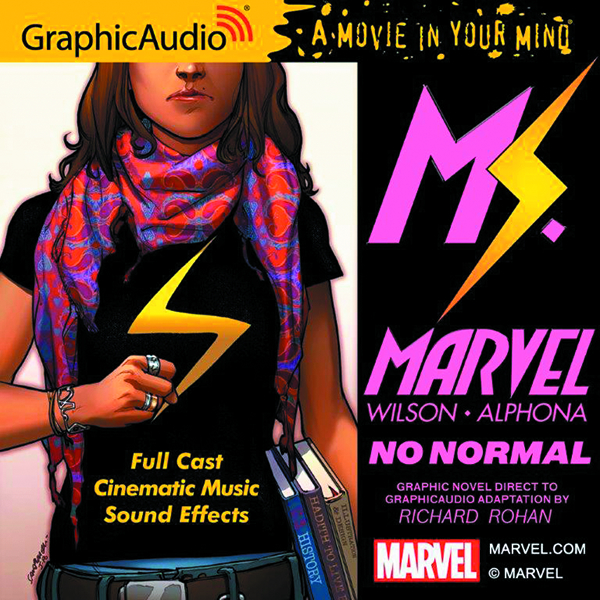 MS MARVEL NO NORMAL AUDIO CD