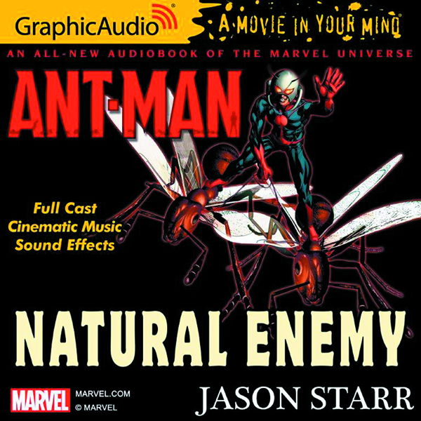 ANT-MAN NATURAL ENEMY AUDIO CD