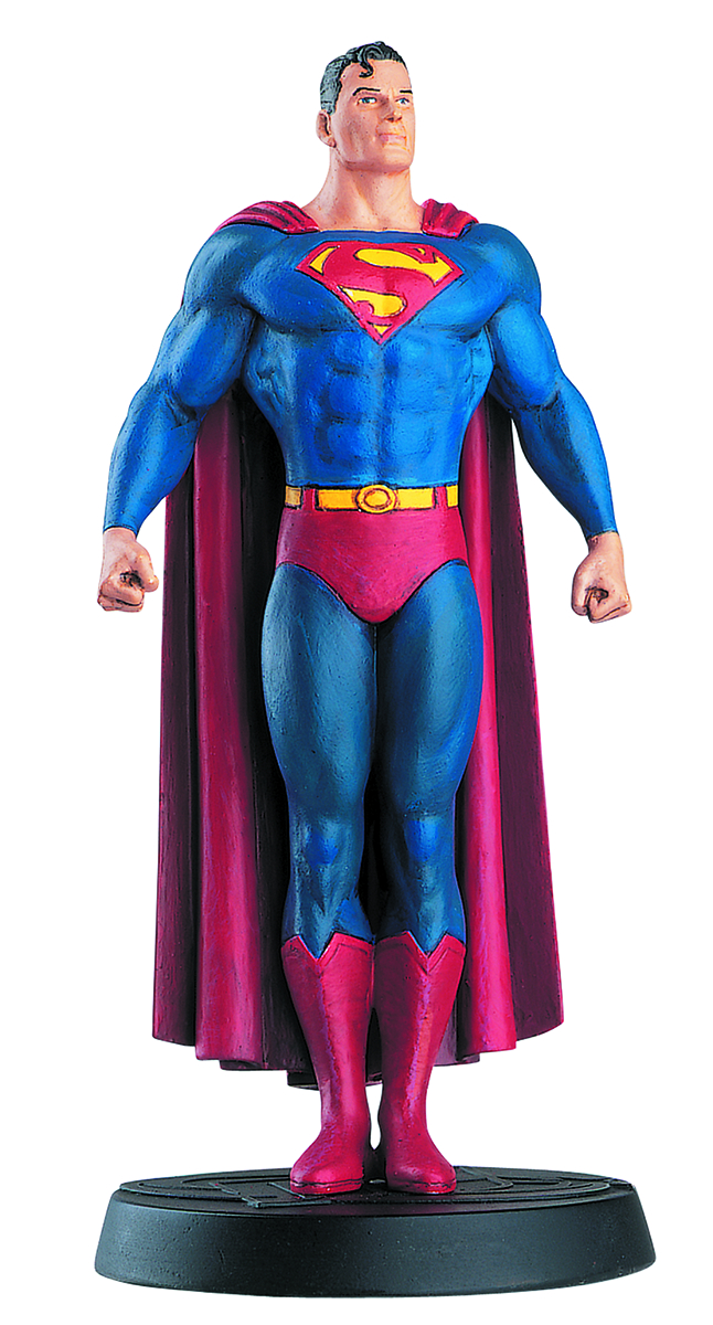DC SUPERHERO BEST OF FIG COLL MAG #2 SUPERMAN