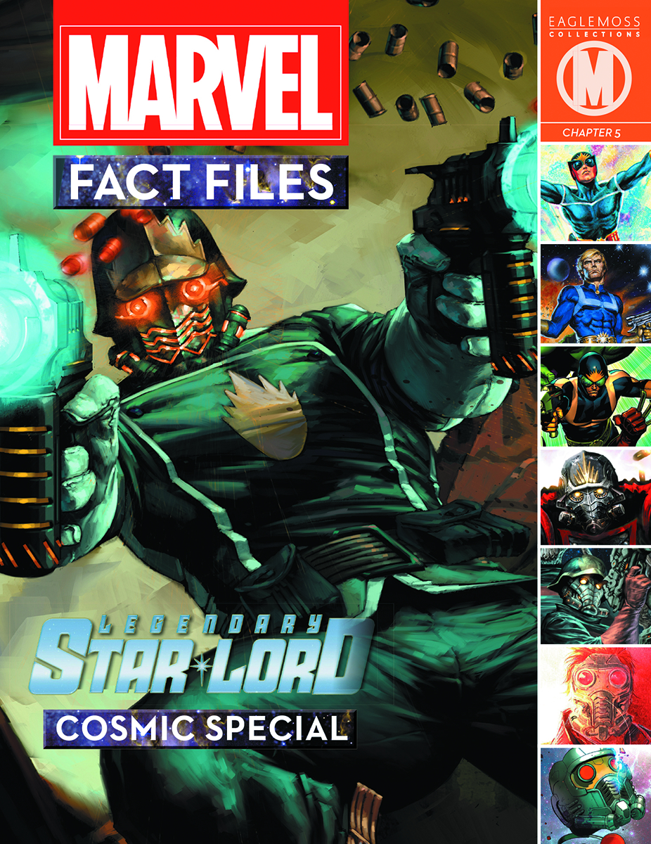 MARVEL FACT FILES COSMIC SPECIAL #2 STAR-LORD