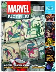 MARVEL FACT FILES #105 SPIDER-MAN VS DOCTOR OCTOPUS COVER