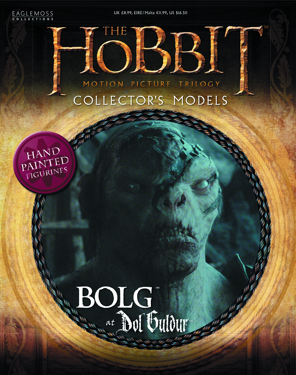 HOBBIT MOTION PICTURE FIG MAG #6 BOLG THE ORC
