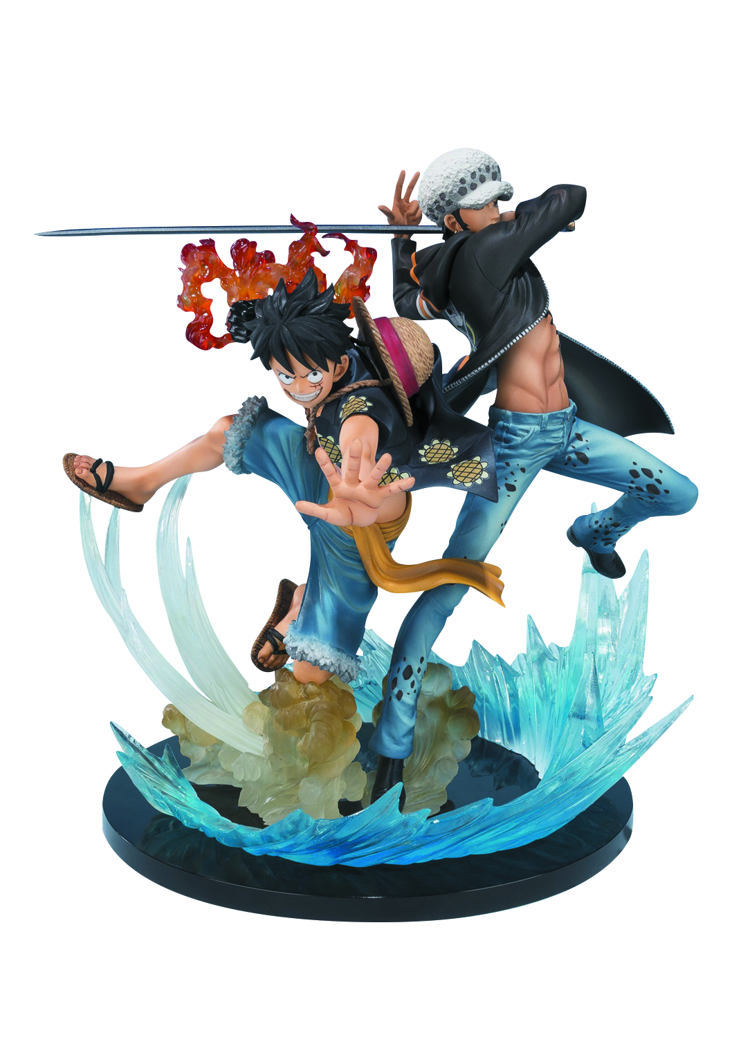 ONE PIECE MONKEY & TRAFALGAR FIGUARTS ZERO AF 5TH ANNIV VER
