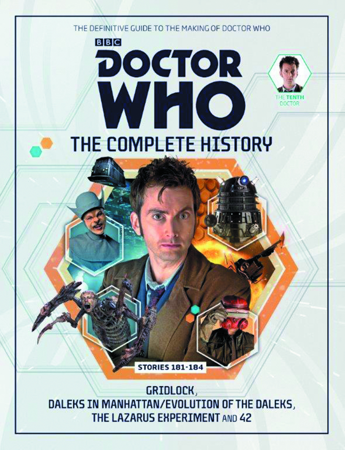 DOCTOR WHO COMP HIST HC VOL 01 10TH DOCTOR STORIES 181-184