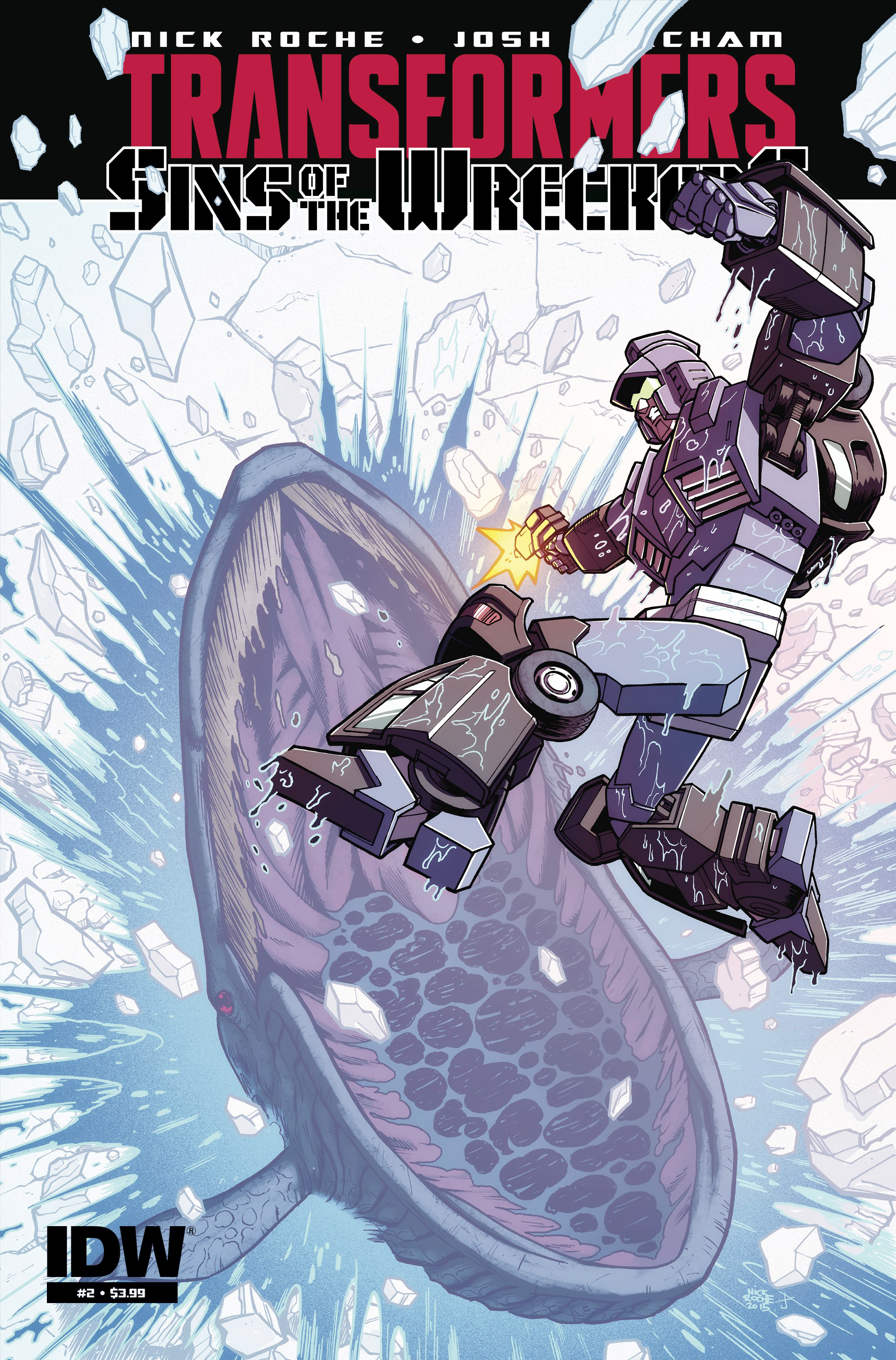 TRANSFORMERS SINS OF WRECKERS #2