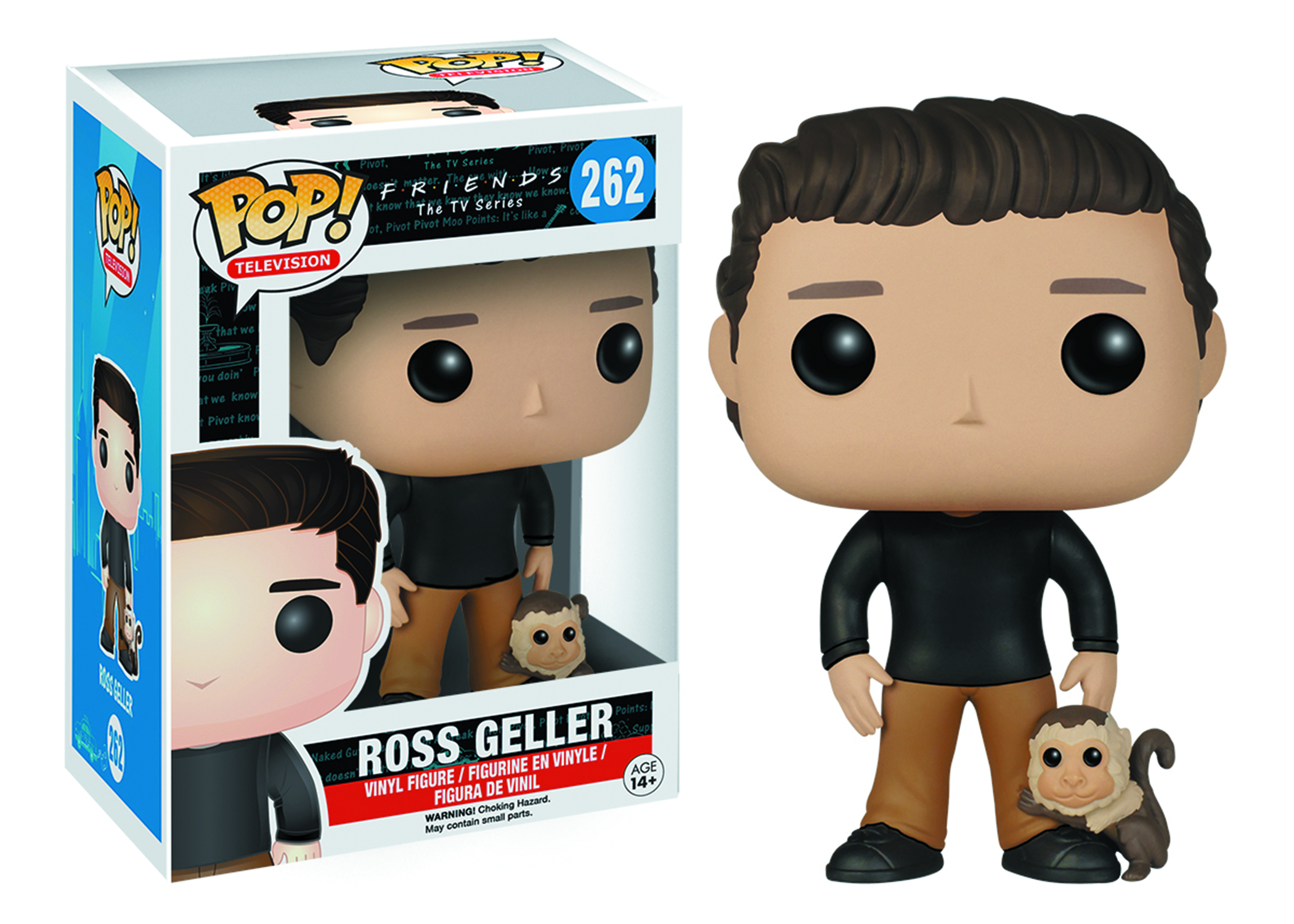 POP FRIENDS ROSS GELLER VINYL FIG