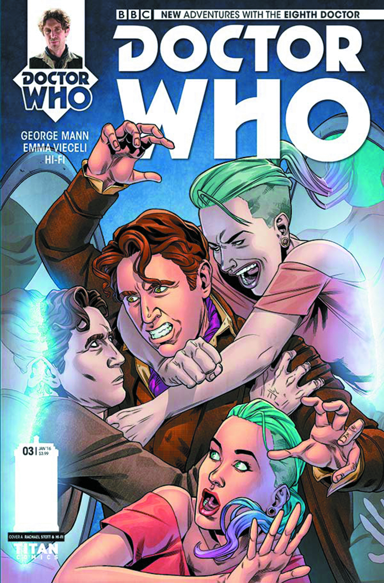 DOCTOR WHO 8TH #3