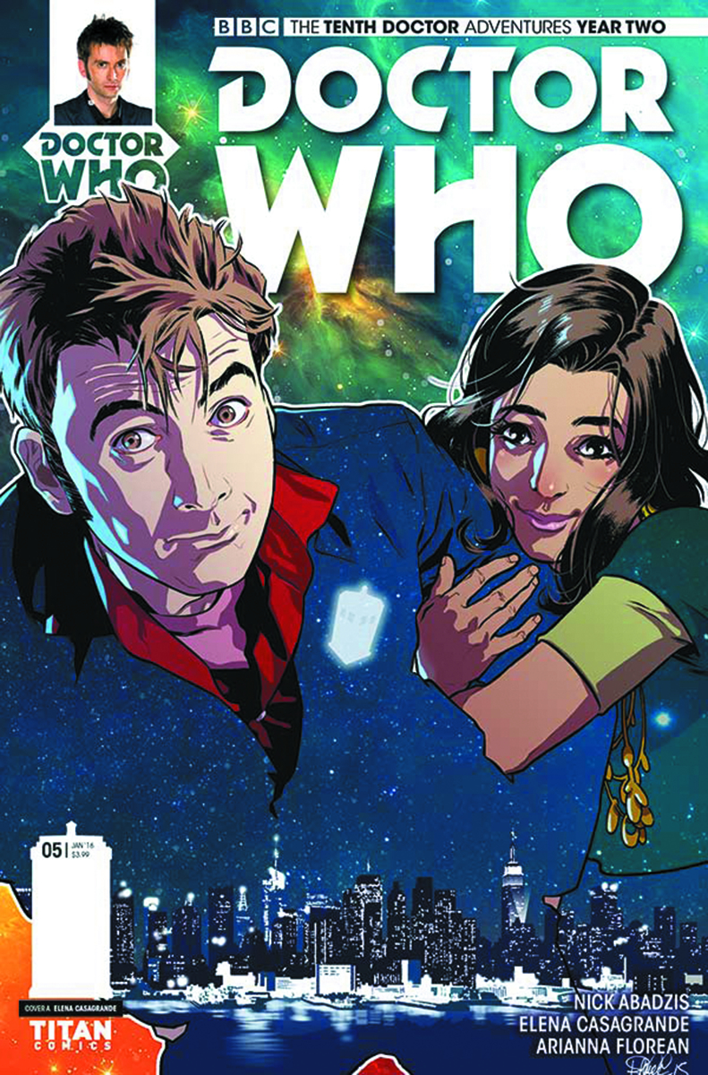 DOCTOR WHO 10TH YEAR TWO #5 REG CASAGRANDE