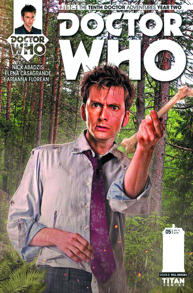 DOCTOR WHO 10TH YEAR TWO #5 BROOKS SUBSCRIPTION PHOTO