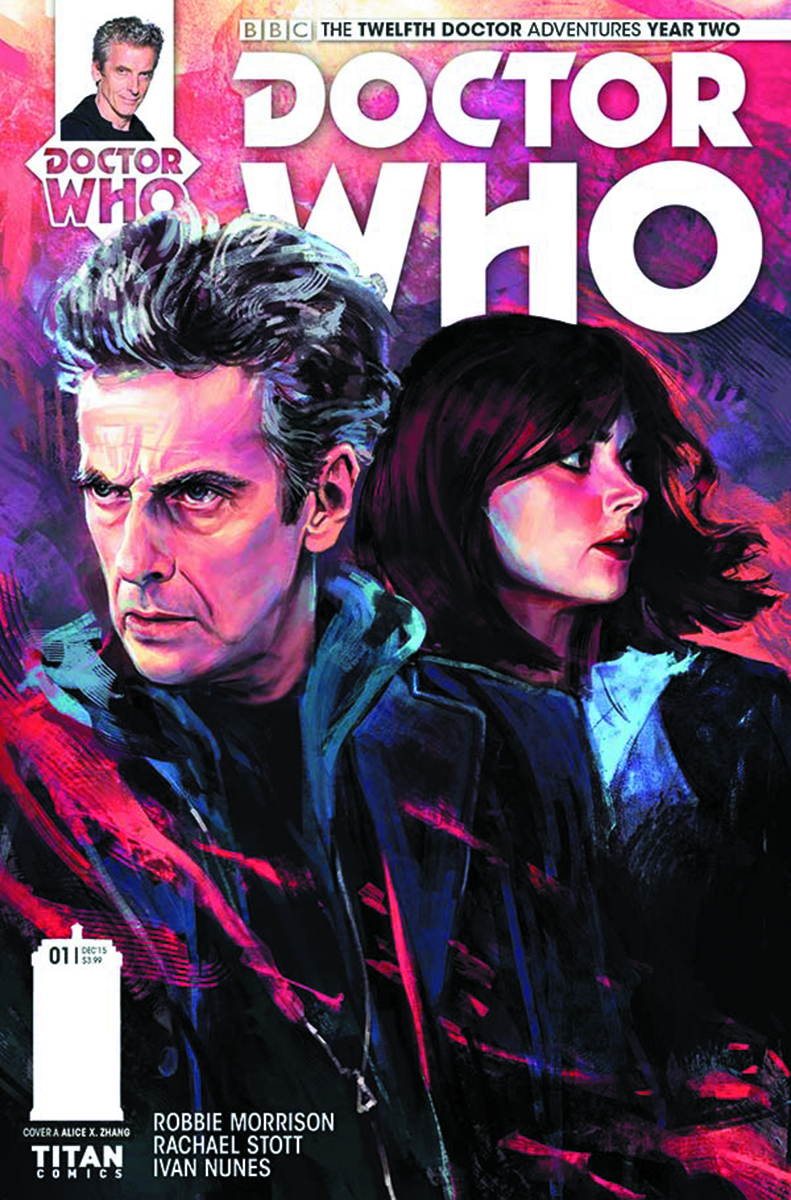 DOCTOR WHO 12TH YEAR TWO #1 REG ZHANG