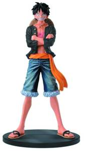 ONE PIECE MASTER STARS PIECE JEANS LUFFY B FIG