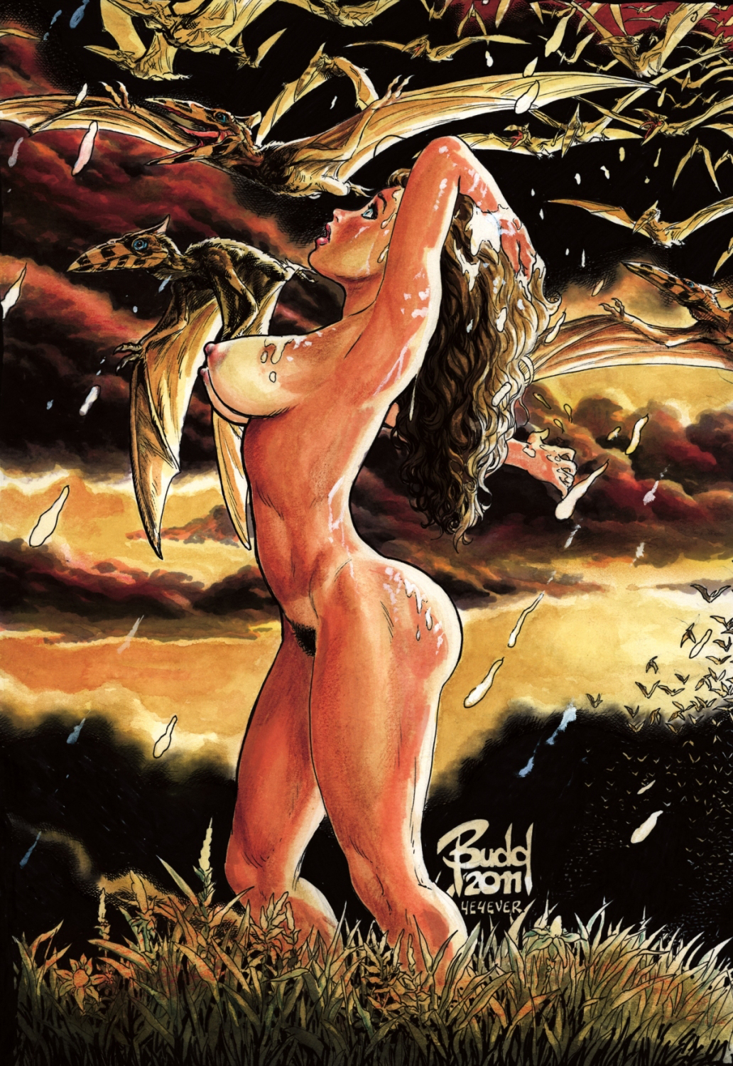 CAVEWOMAN SISTERS OF THE ARENA #2 (OF 2) CVR E ROOT