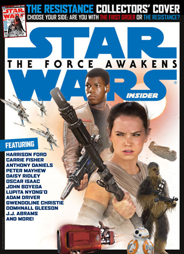 STAR WARS INSIDER #162 NEWSSTAND ED