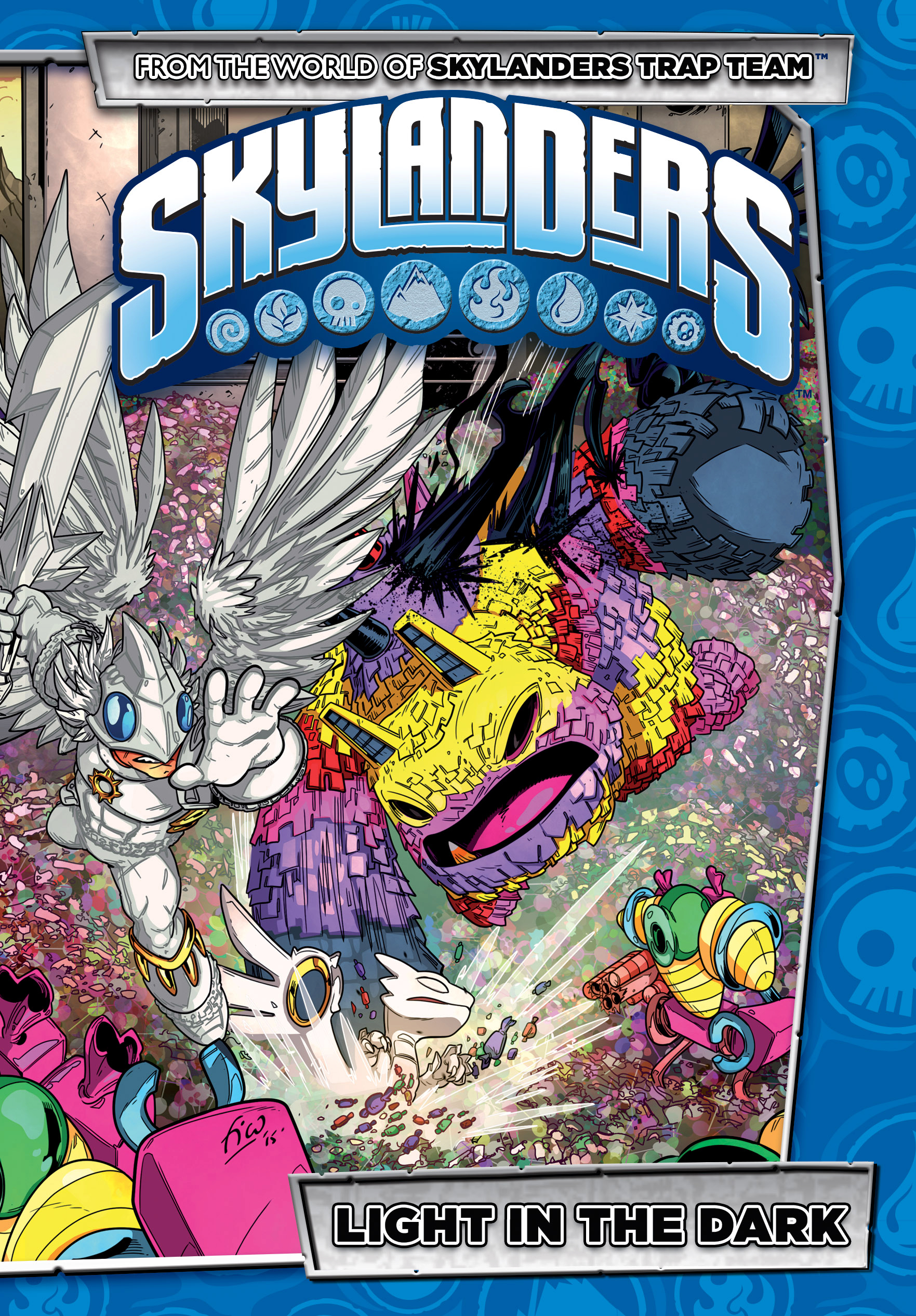SKYLANDERS LIGHT IN THE DARK HC