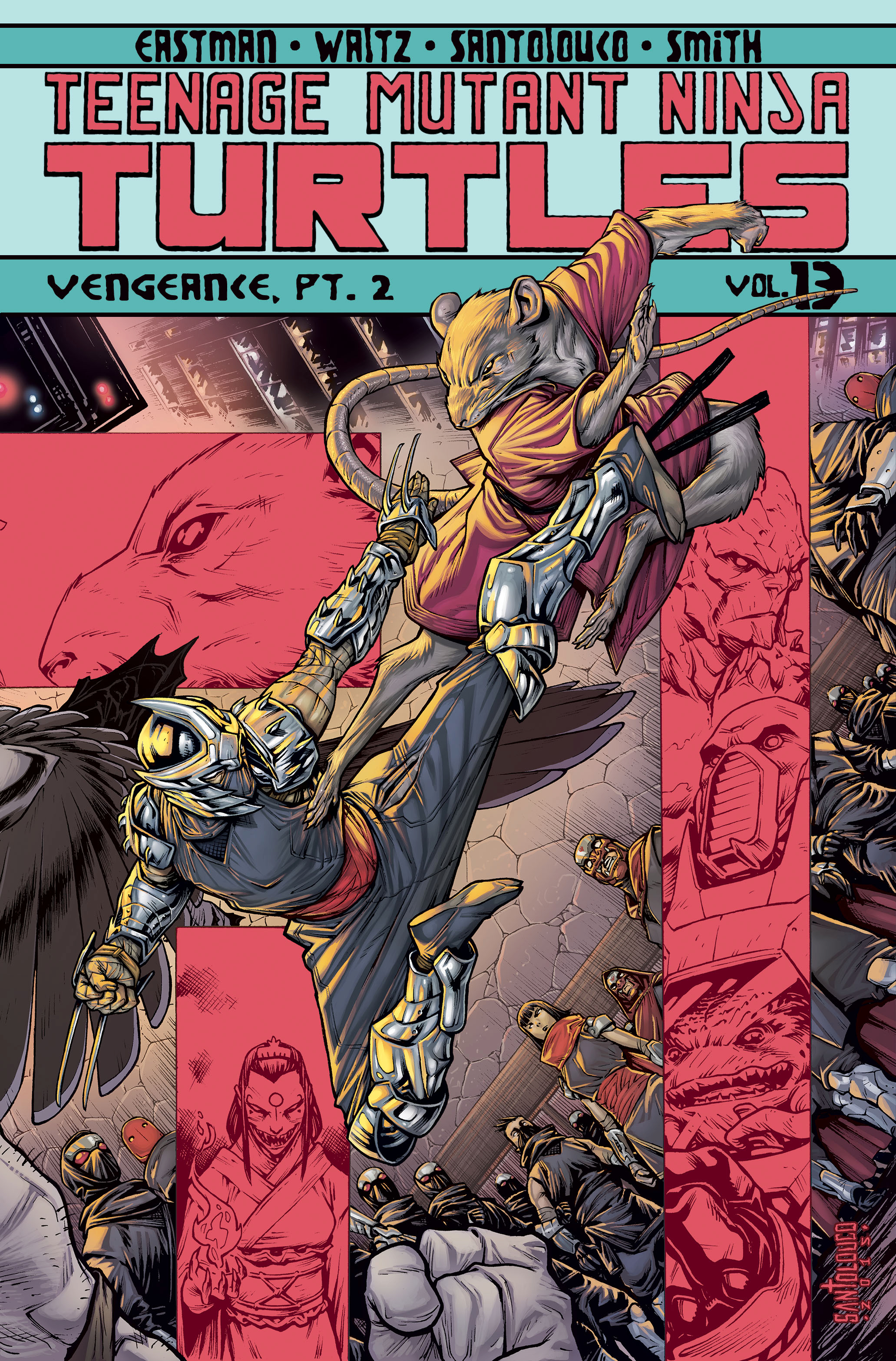TMNT ONGOING TP VOL 13 VENGEANCE PT 2