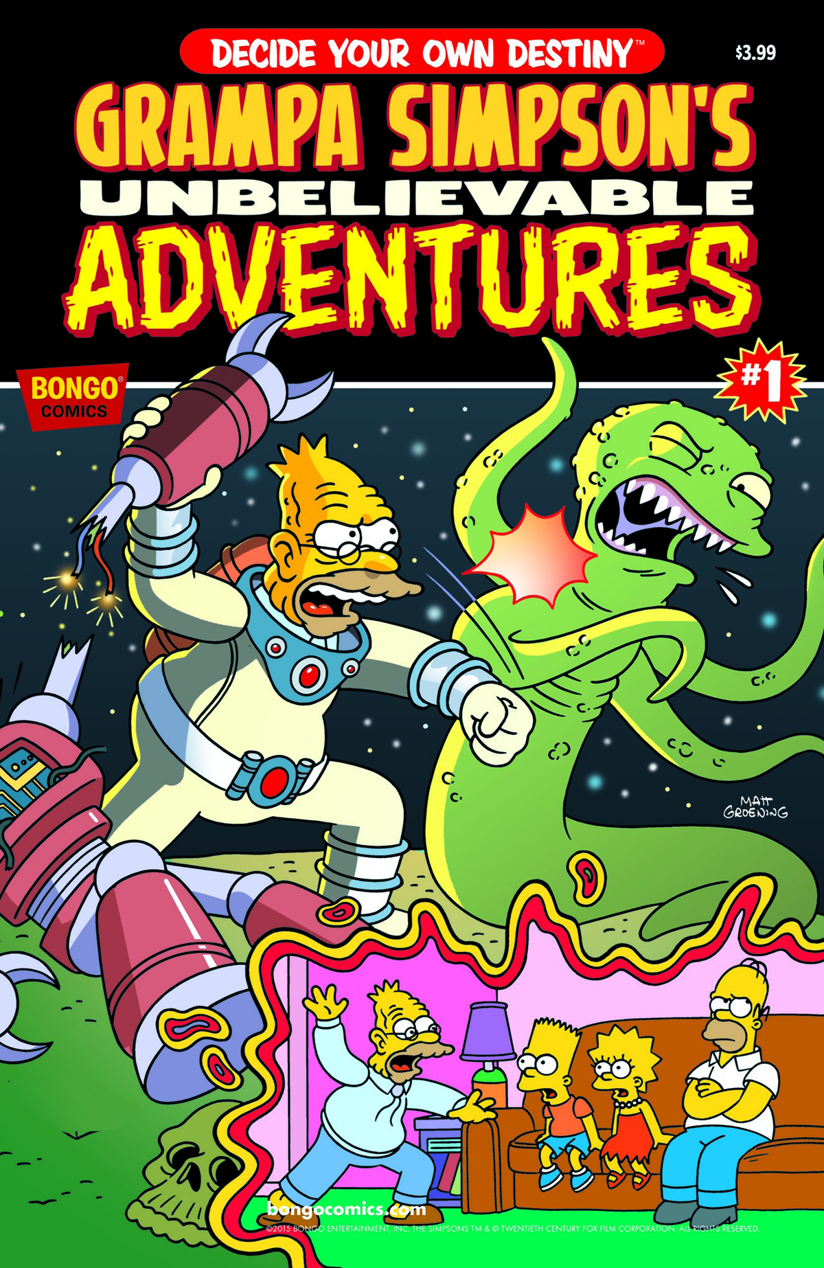 GRAMPA SIMPSONS UNBELIEVABLE ADVENTURES #1