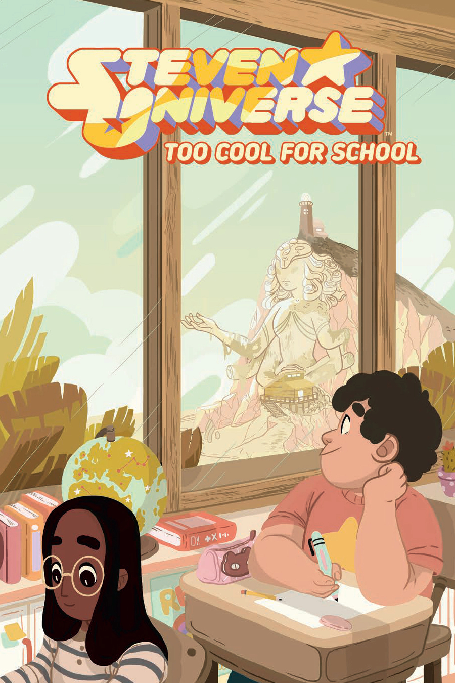 STEVEN UNIVERSE ORIGINAL GN VOL 01 TOO COOL FOR SCHOOL