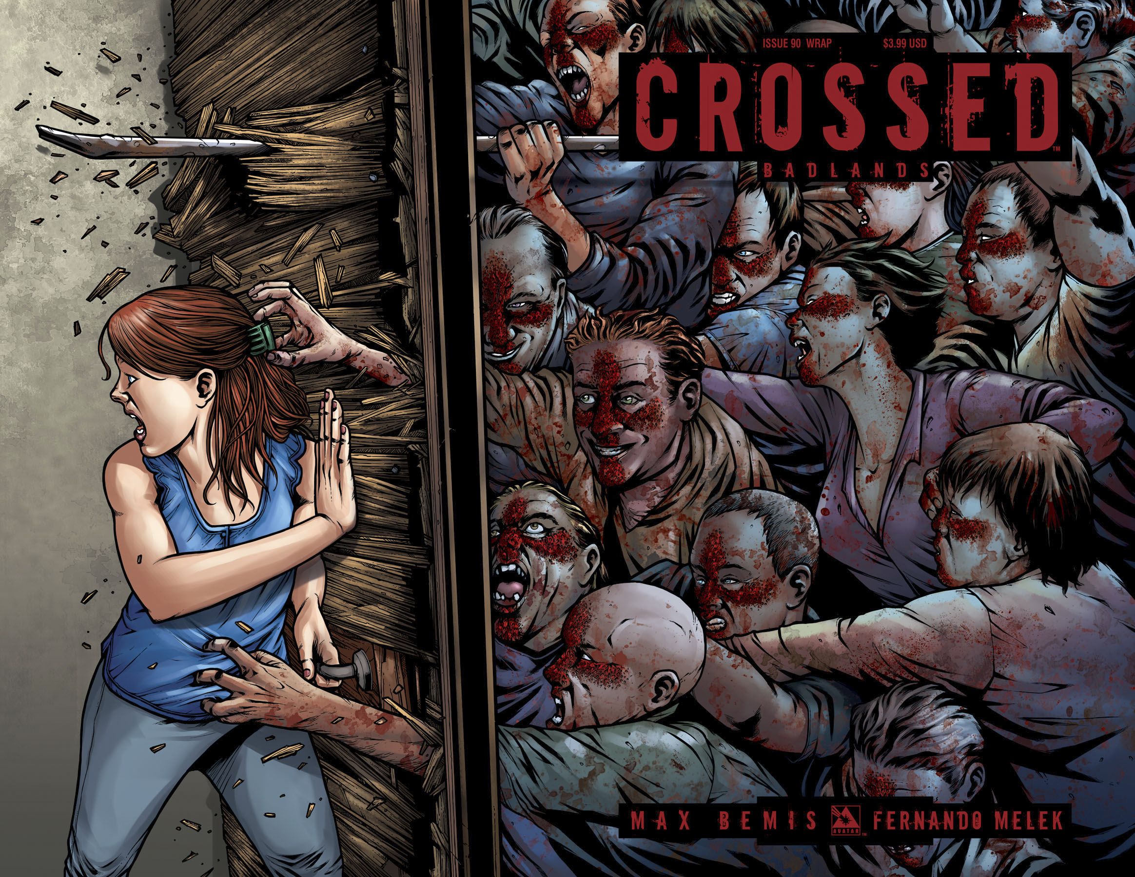 CROSSED BADLANDS #90 WRAP CVR (MR)