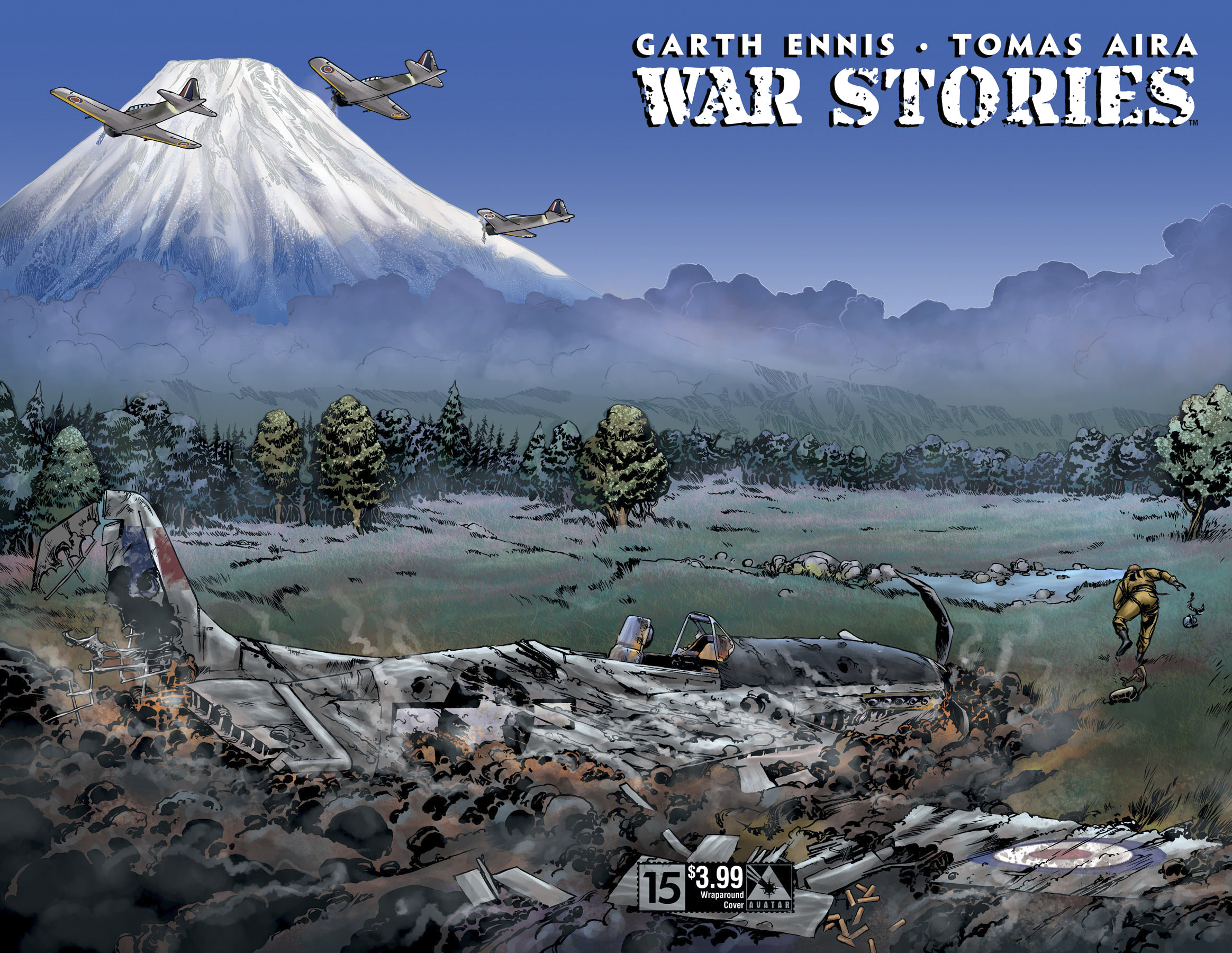 WAR STORIES #15 WRAP CVR