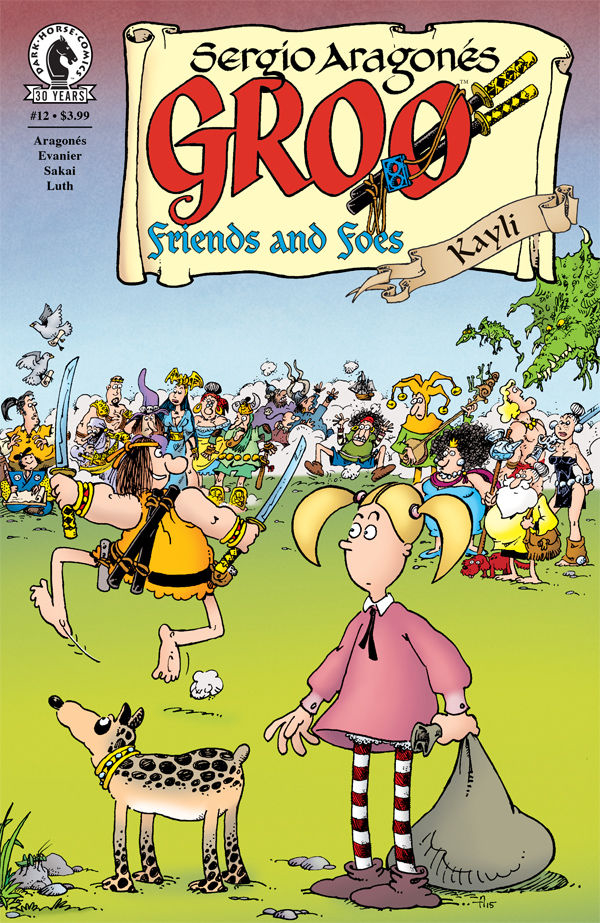 GROO FRIENDS AND FOES #12