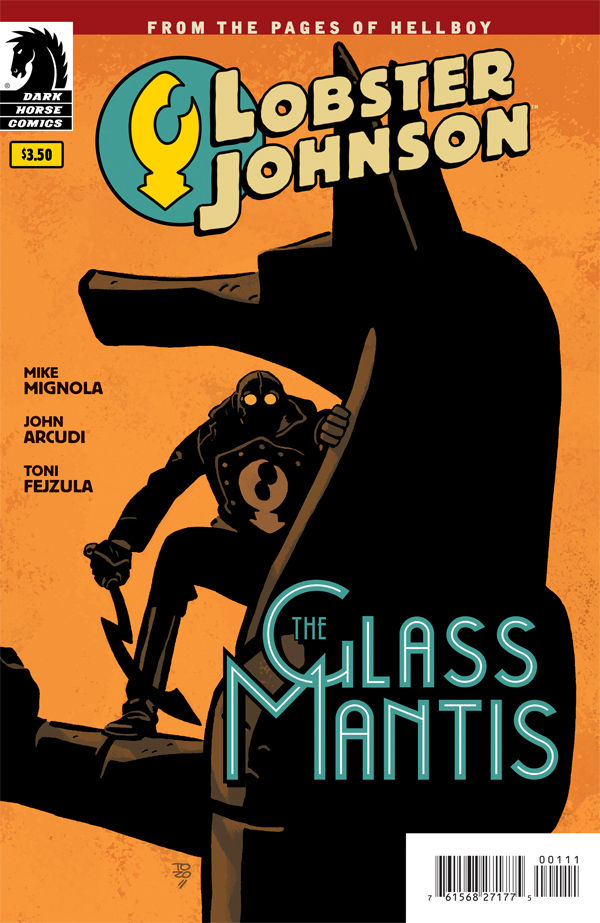 LOBSTER JOHNSON GLASS MANTIS ONE SHOT