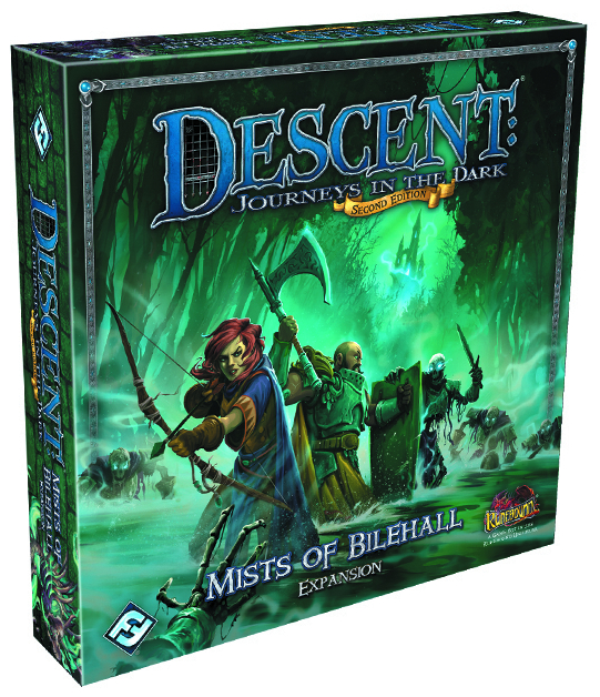 DESCENT JOURNEYS IN THE DARK MISTS OF BILEHALL EXP