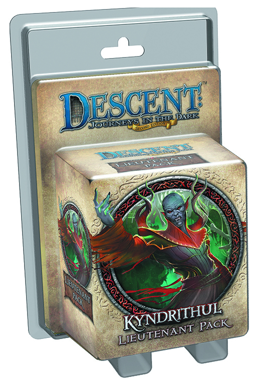 DESCENT JOURNEYS IN THE DARK KYNDRITHUL LIEUTENANT PK