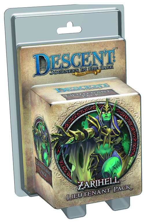 DESCENT JOURNEYS IN THE DARK ZARIHELL LIEUTENANT PK