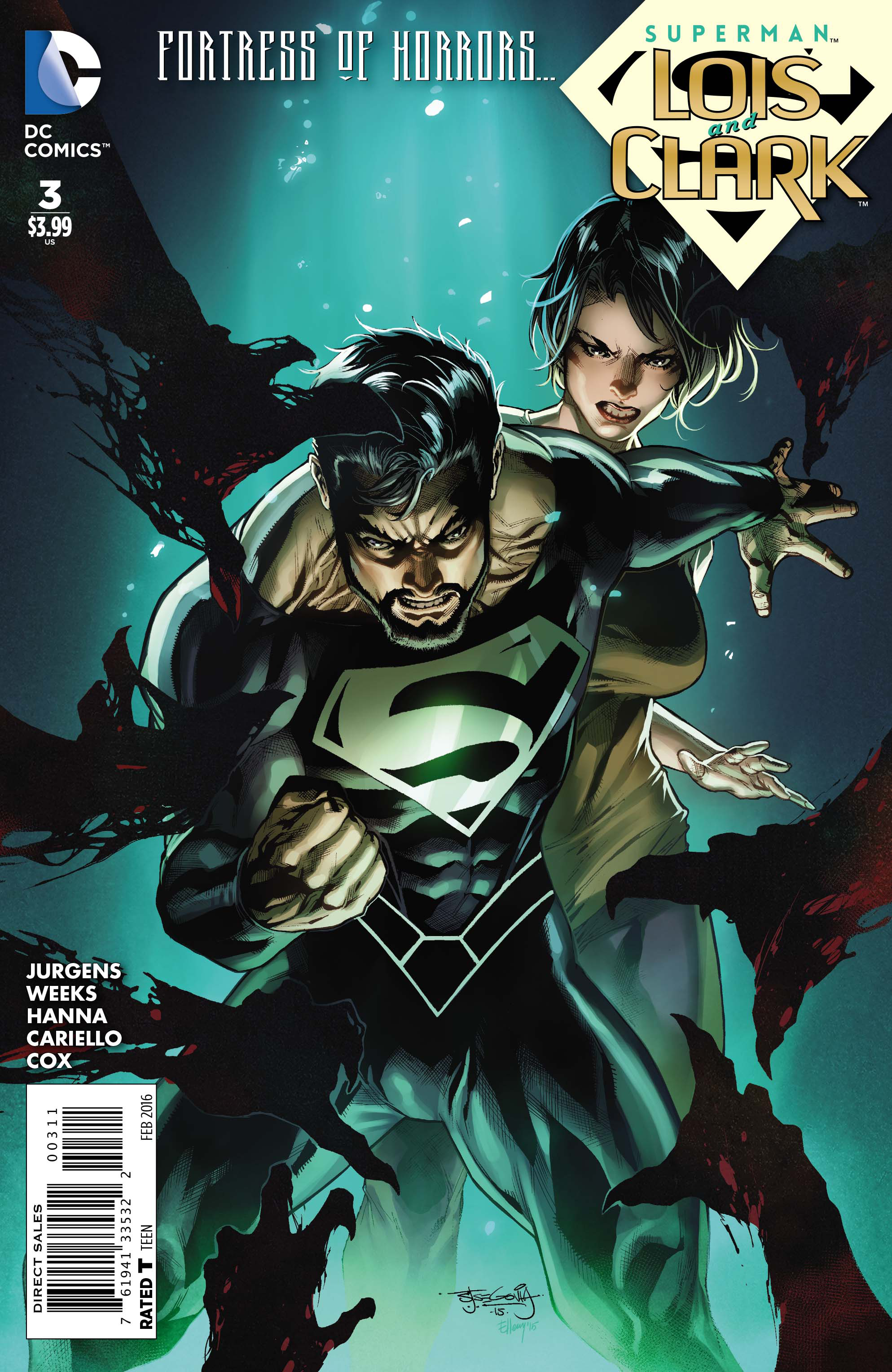 SUPERMAN LOIS AND CLARK #3