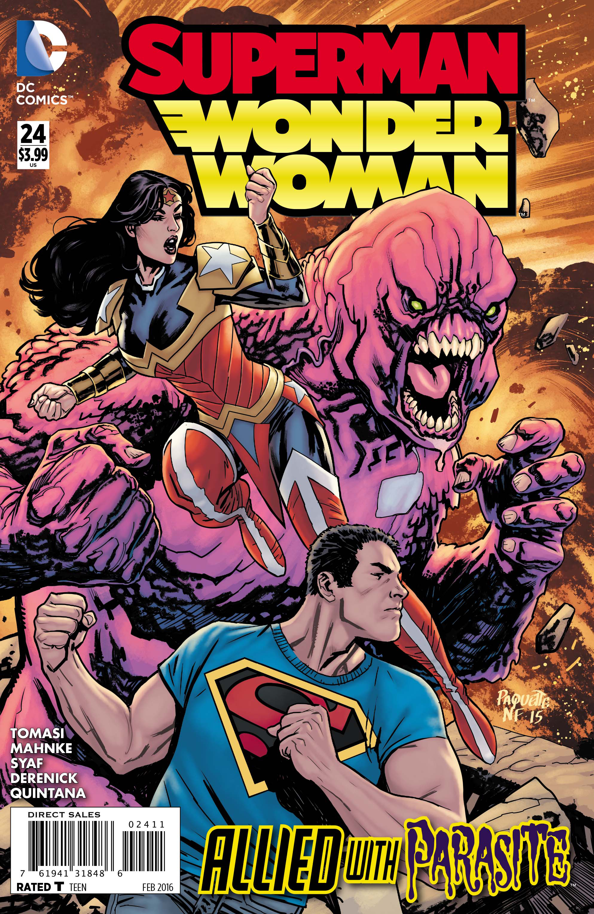 SUPERMAN WONDER WOMAN #24