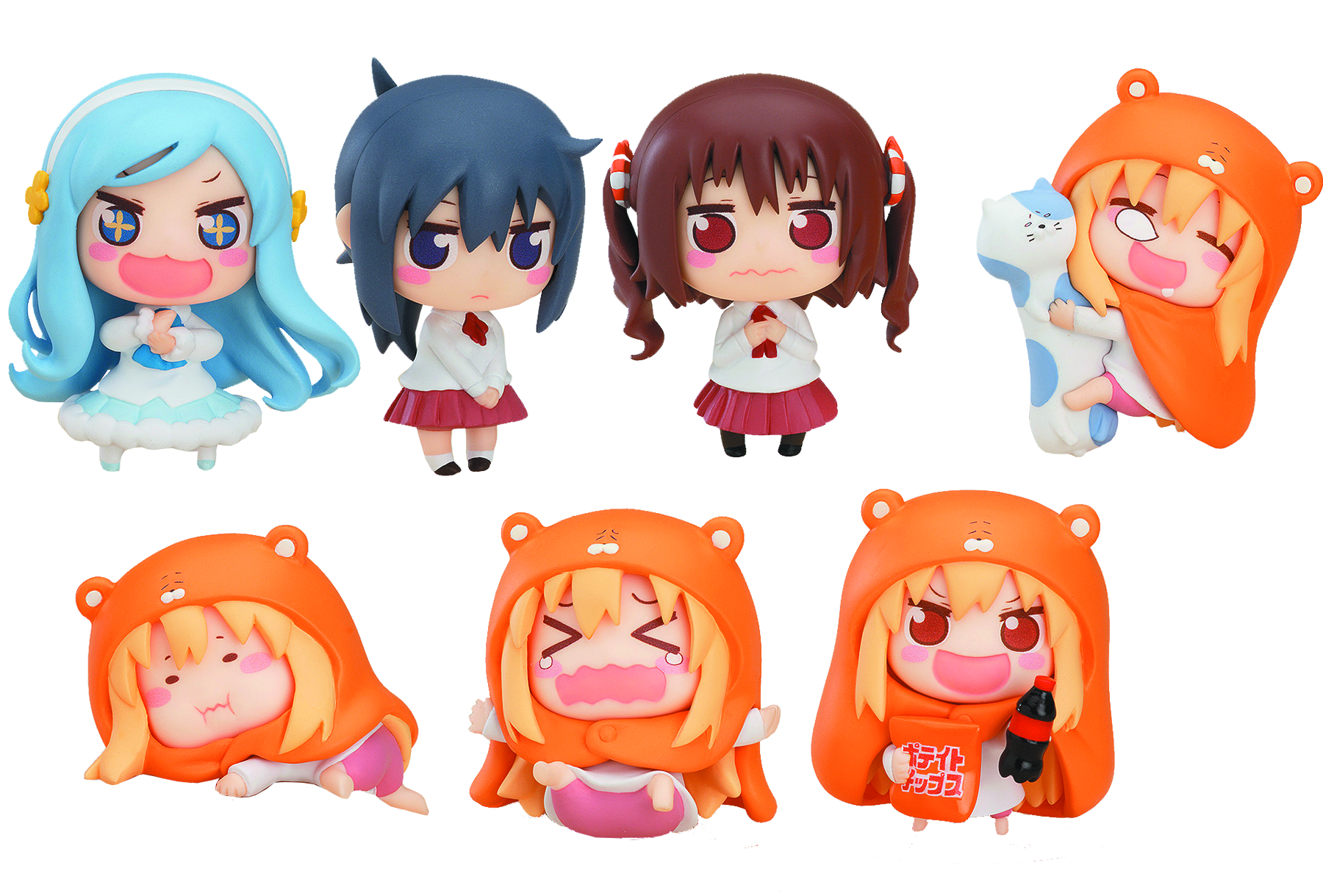 HIMOUTO UMARU CHAN 8PC TRADING FIG ASST