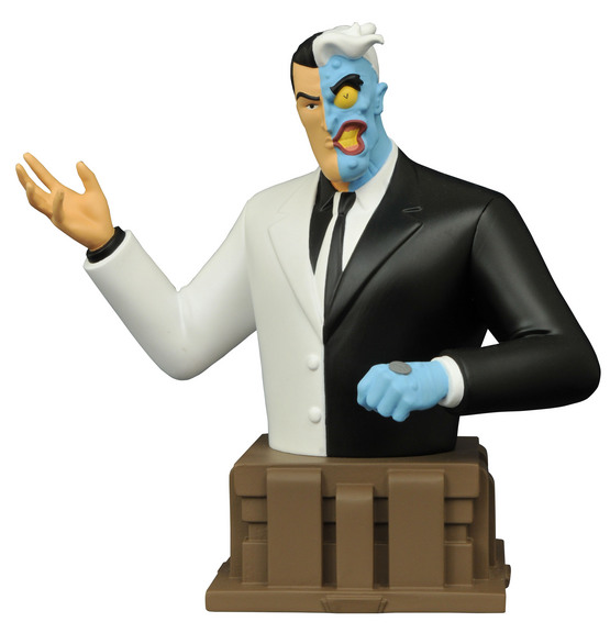 BATMAN ANIMATED SERIES TWO-FACE BUST
