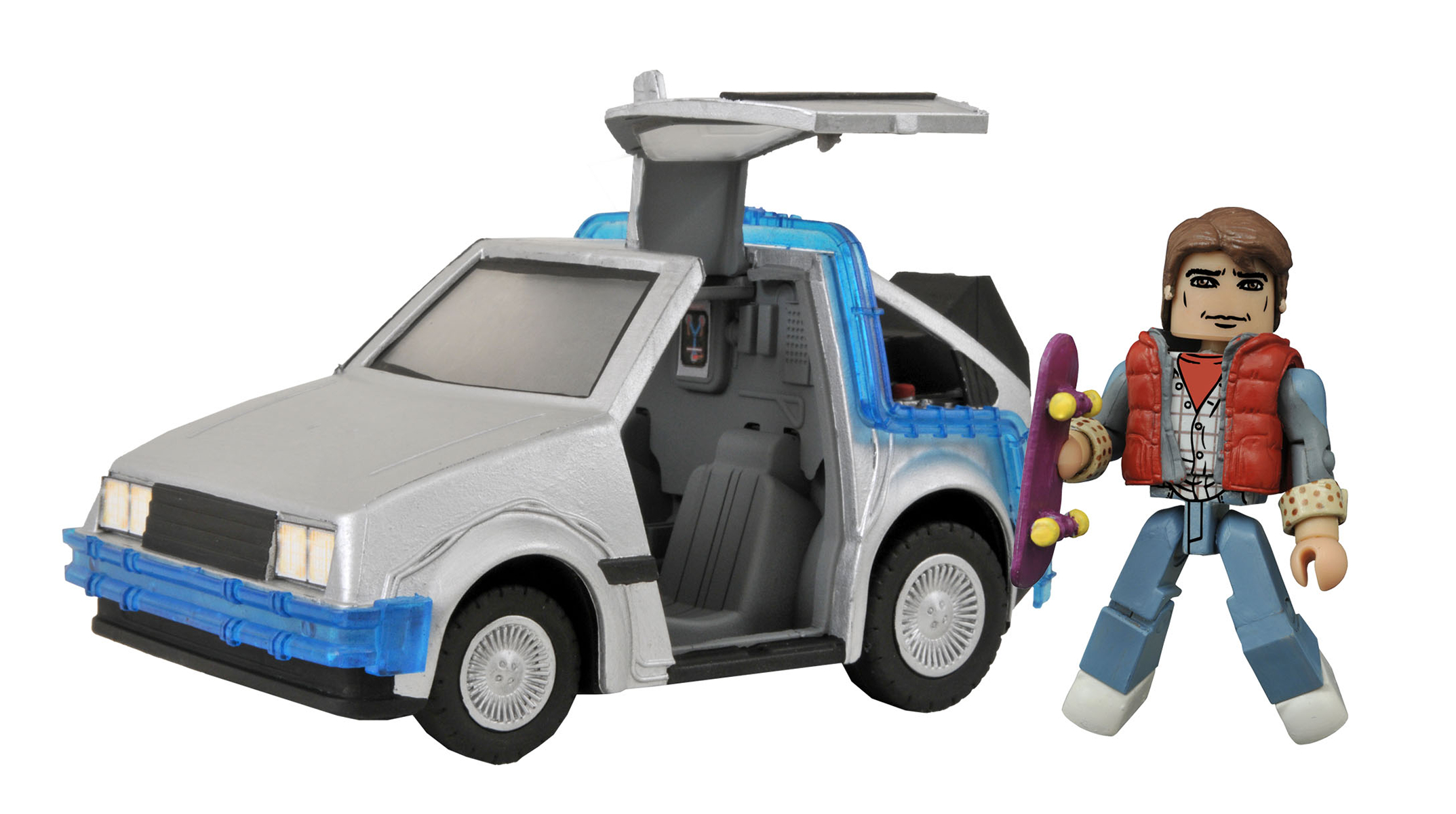 BTTF MINIMATES TIME MACHINE #1