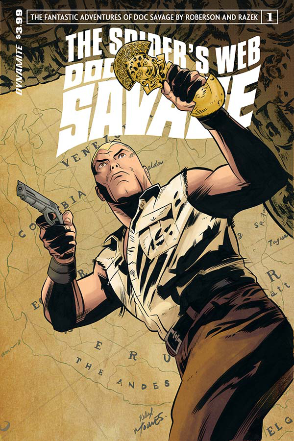 DOC SAVAGE SPIDERS WEB #1 CVR A TORRES