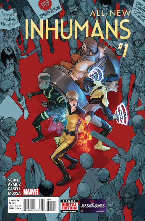 ALL NEW INHUMANS #1
