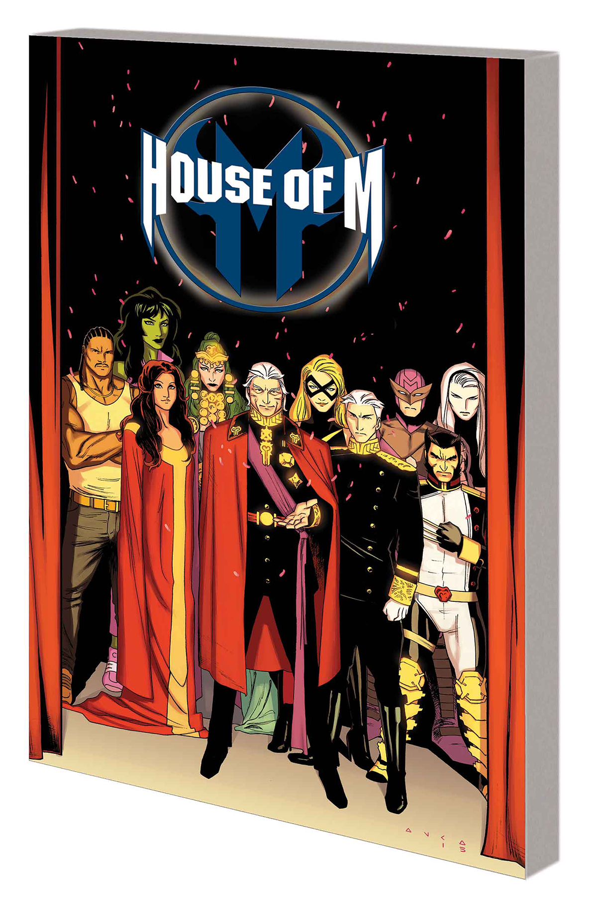 HOUSE OF M TP WARZONES
