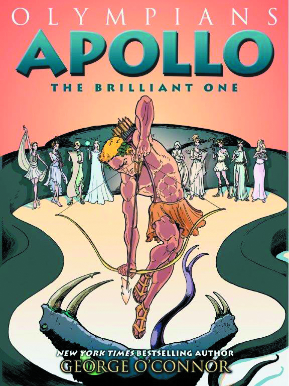 OLYMPIANS GN HC VOL 08 APOLLO BRILLIANT ONE