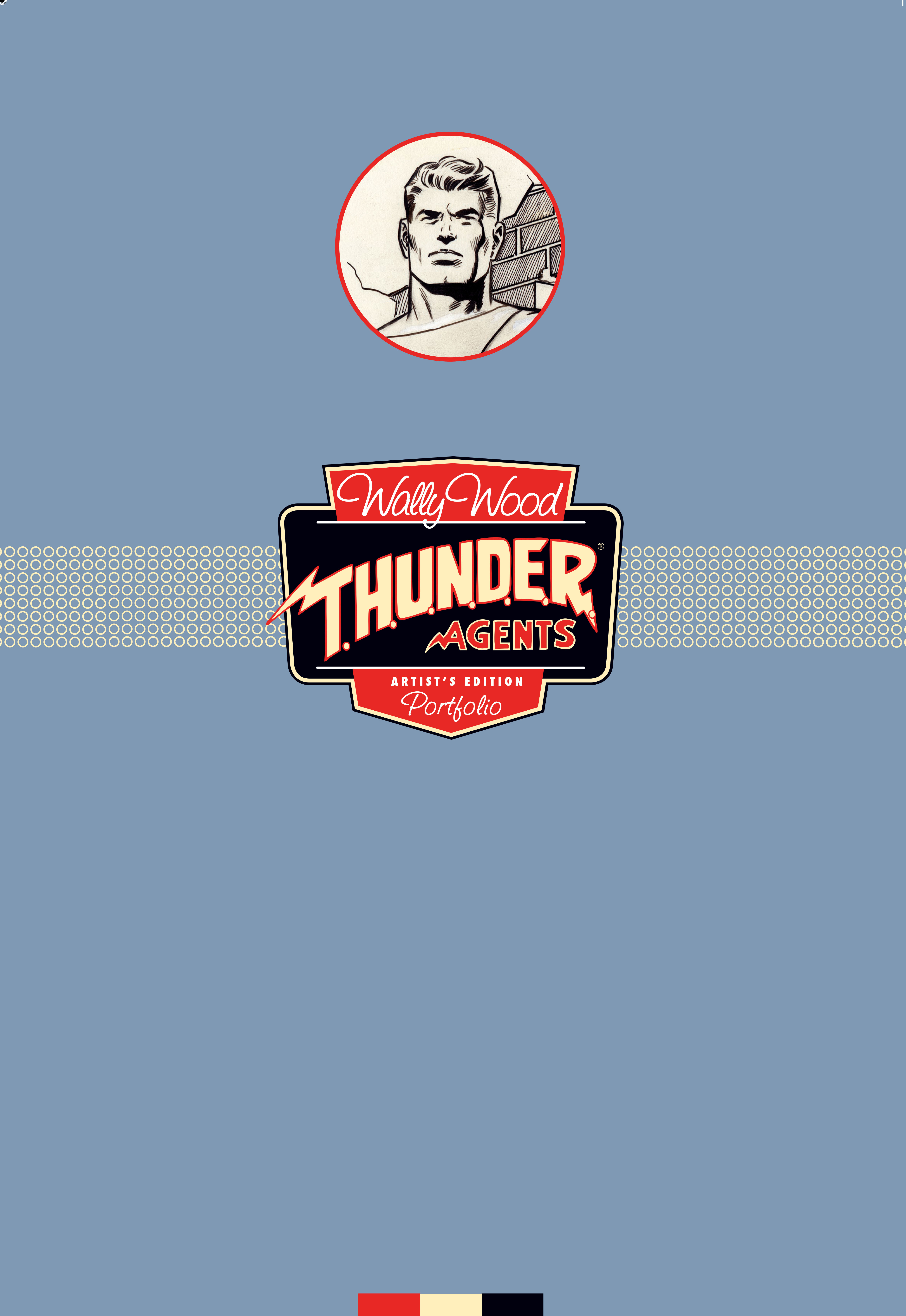 WALLY WOOD THUNDER AGENTS ARTIST ED PORTFOLIO ED