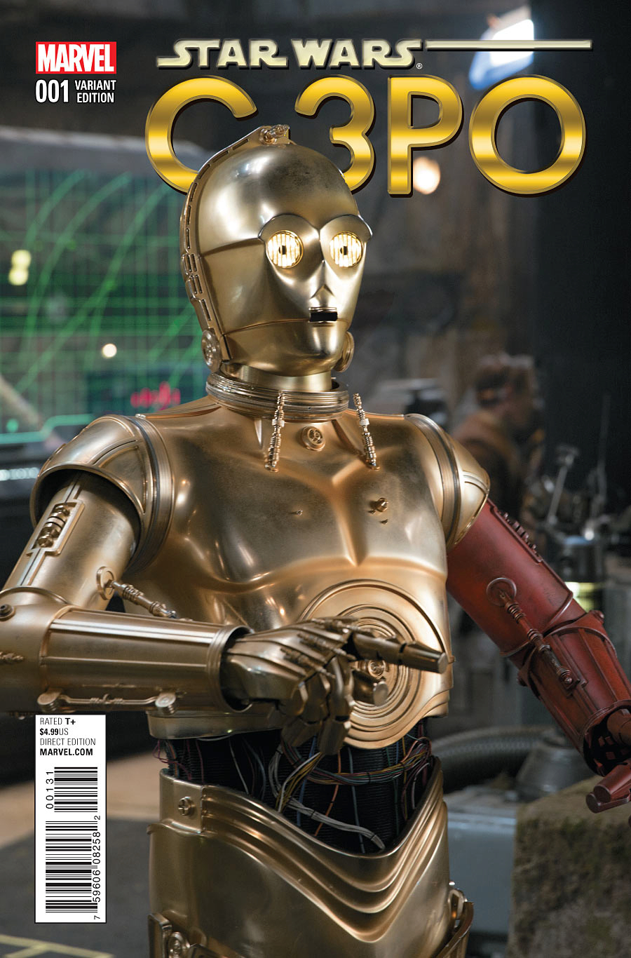 STAR WARS SPECIAL C-3PO #1 MOVIE VAR