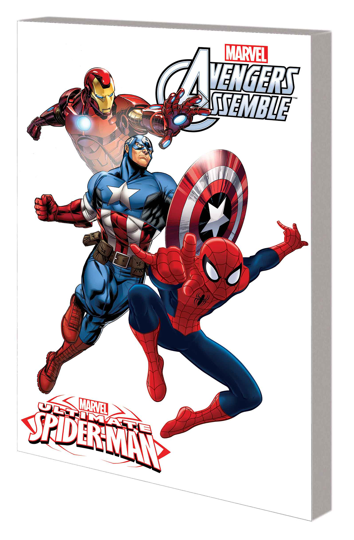 MU ULTIMATE SPIDER-MAN AND AVENGERS DIGEST TP